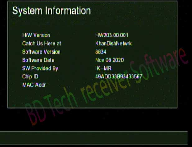 Gx6605s hw203 New Software2020 With 3G And Gprs Option