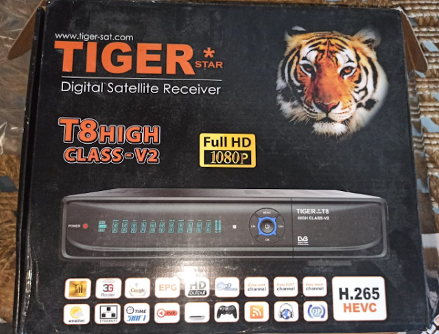 Tiger T8 High Class V2 New Software 25 03 2021