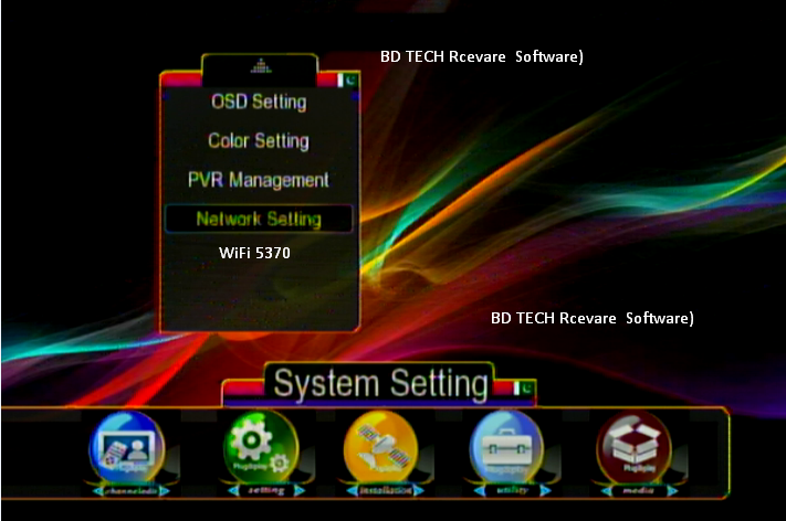 Gx6605s Hw203 New Software F1F2 Receivers Software